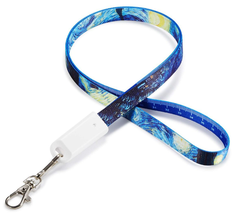 Full colour lanyard oplaadkabel 3 in 1