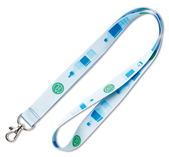 Full color RPET lanyard
